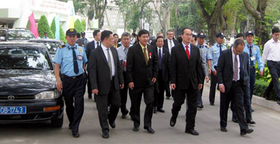 Security service for senior Civil servant or Politian